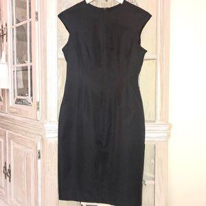 Banana Republic black sleeveless dress.  Size 10